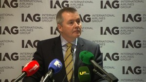 International Airlines Group Chief Executive Willie Walsh.