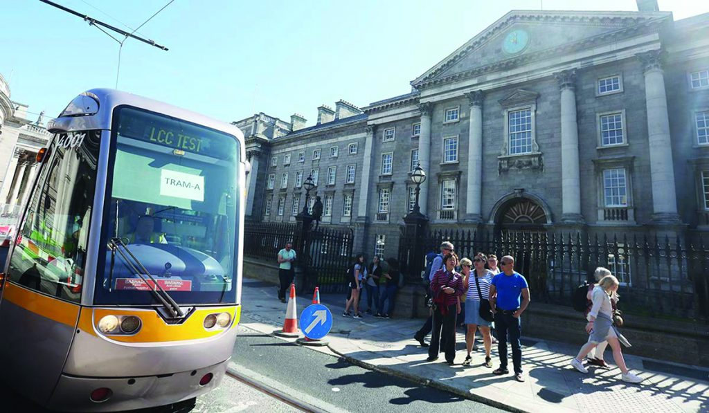 Luas-cross-city-test
