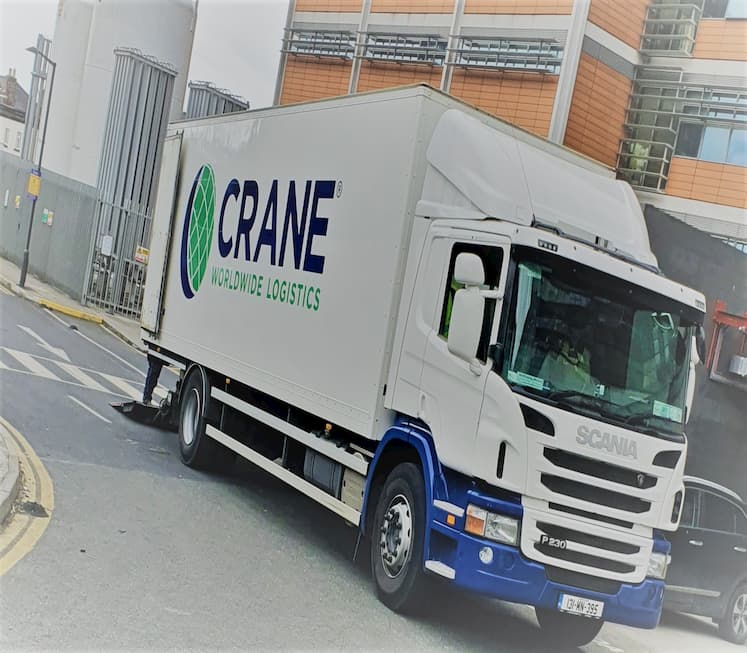 Crane Worldwide Ireland Recognised in Logistics Shortlist for Achievement and Technology