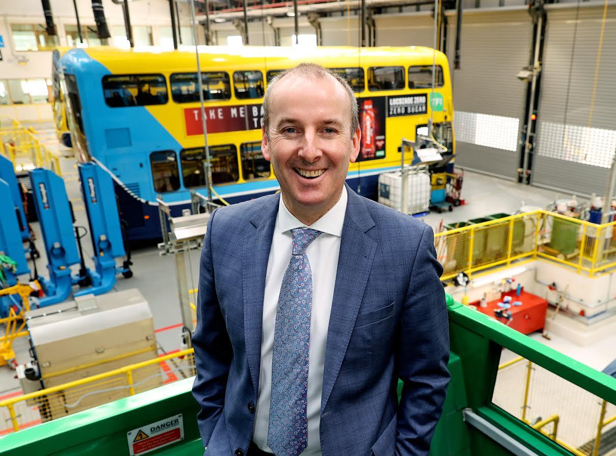 Broadstone depot undergoes €15m restoration